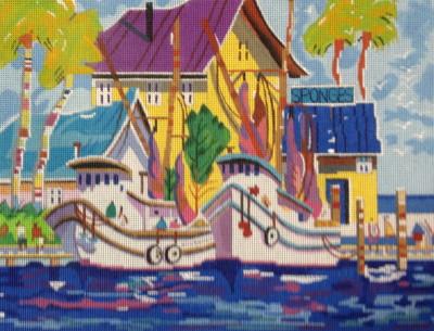 005 Sponge Docks