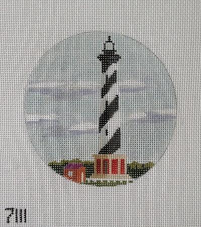 Cape Hatteras Light needlepoint