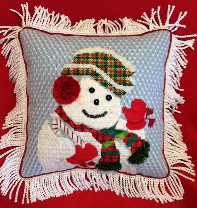 2203 Festive snowman model