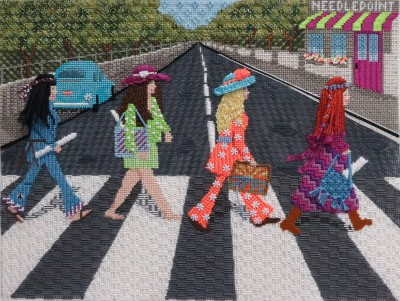 Needlemania stitched Patricia Soan