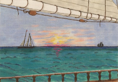 7004 Schooner Sailing NP